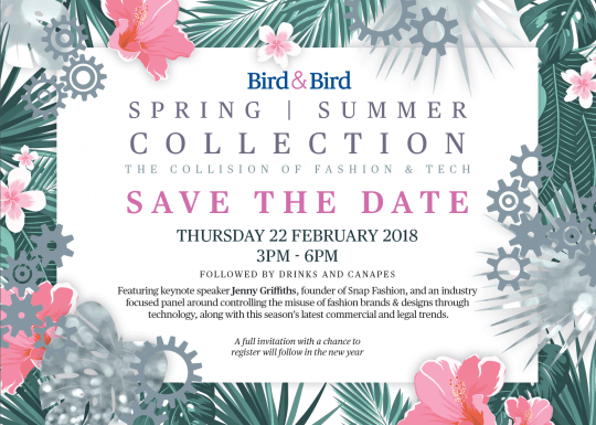 Join us for our Spring/Summer Collection event for fashion